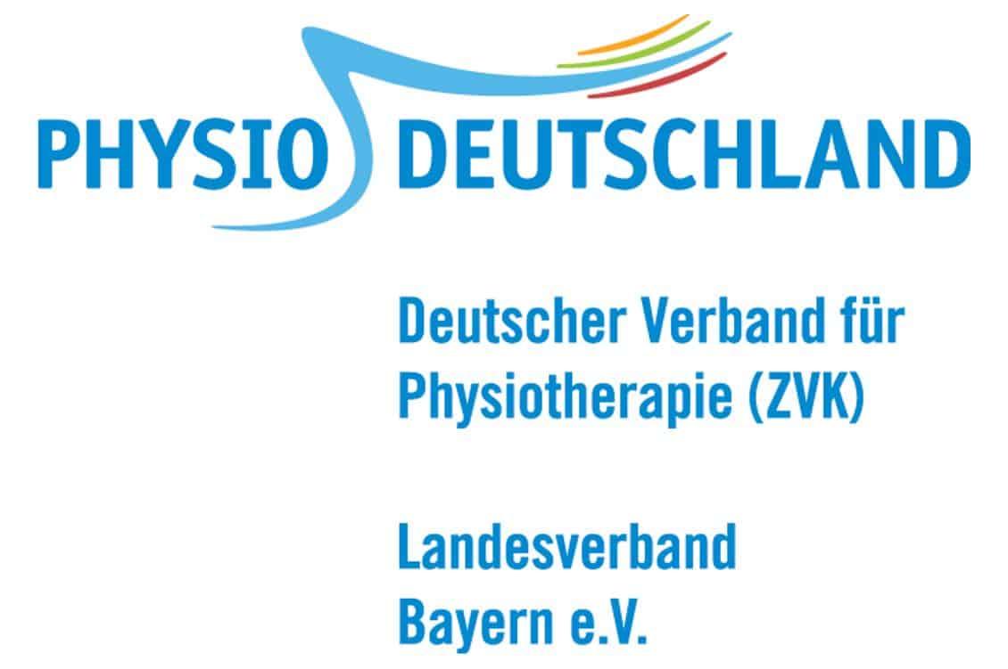 Logo des Deutschen Verbandes für Physiotherapie, Landesverband Bayern