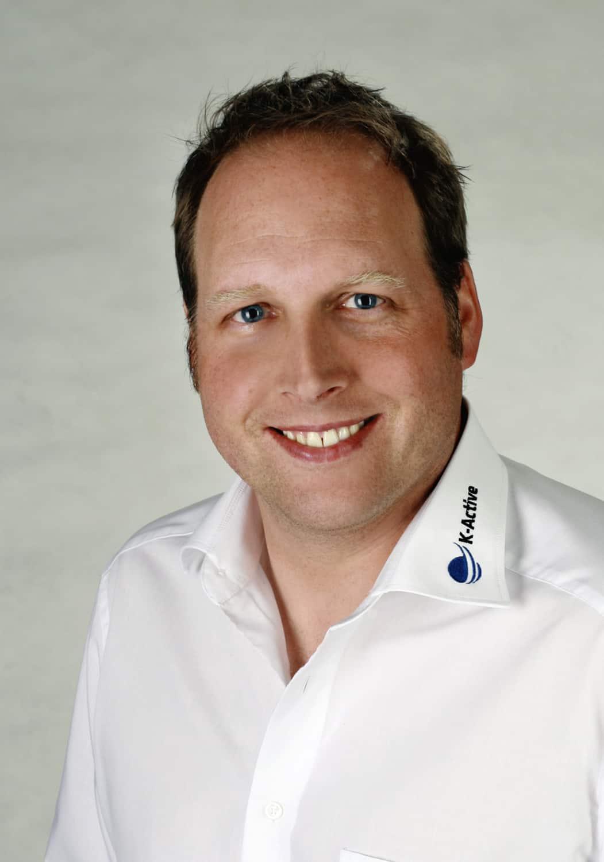 Portrait von K-Active-Referent Lars Gienger