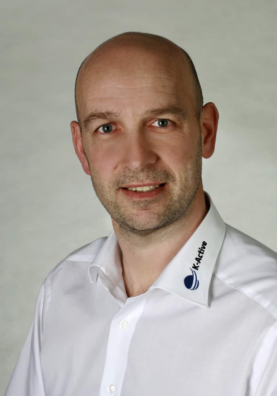 Portrait von K-Active-Referent Volker Nieves