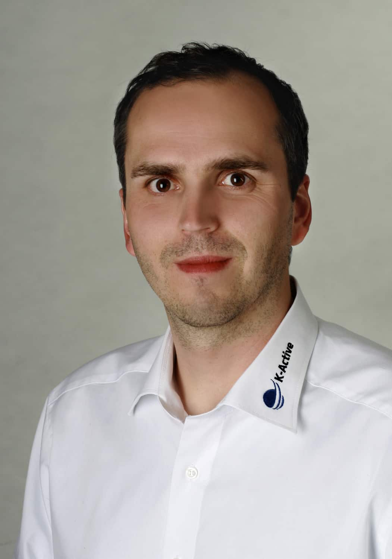 Portrait von K-Active-Referent Torge-Nils Eistrup