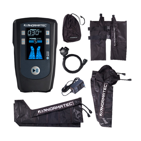 NormaTec® PULSE whole body (control unit, 2 leg parts, 2 arm parts, hip part)