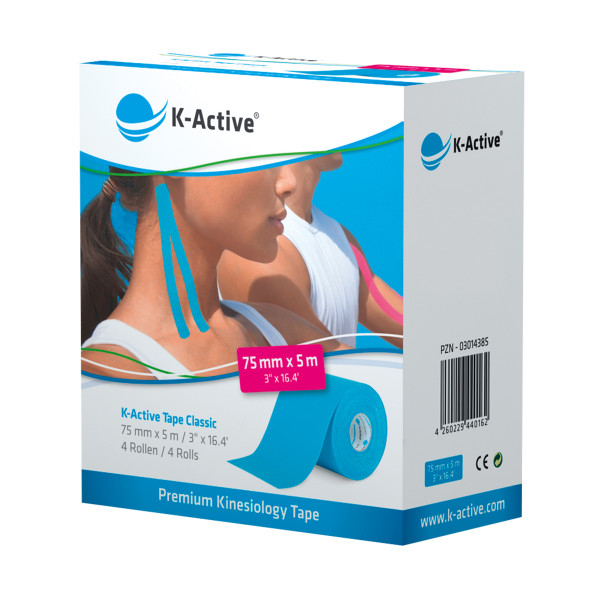 K-Active® Tape Classic 7,5 cm 4er-Box