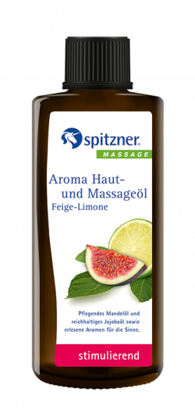 Aroma skin and massage oil - Fig lime
