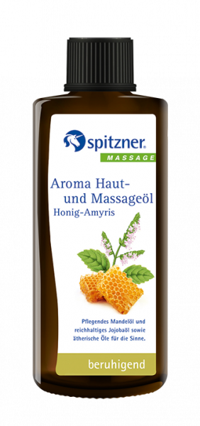 Aroma skin and massage oil - Honey Amyris