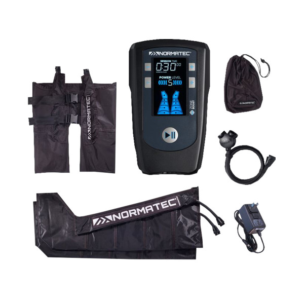 NormaTec® PULSE leg and hip (control unit, 2 leg sections, hip section)