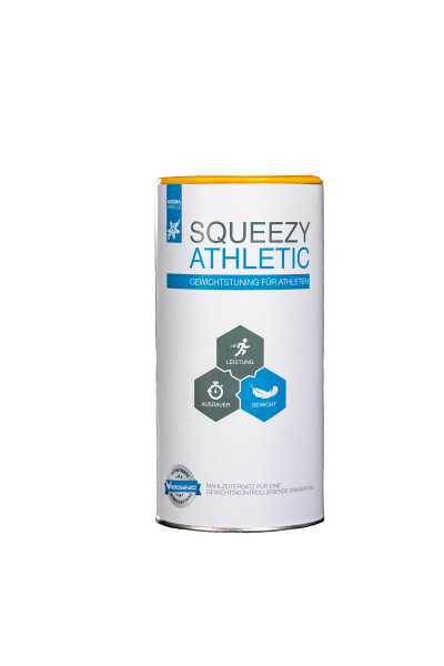 Squeezy Athletic 550g tin