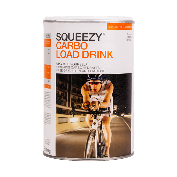 Squeezy Carbo Load Drink 500 g, lemon