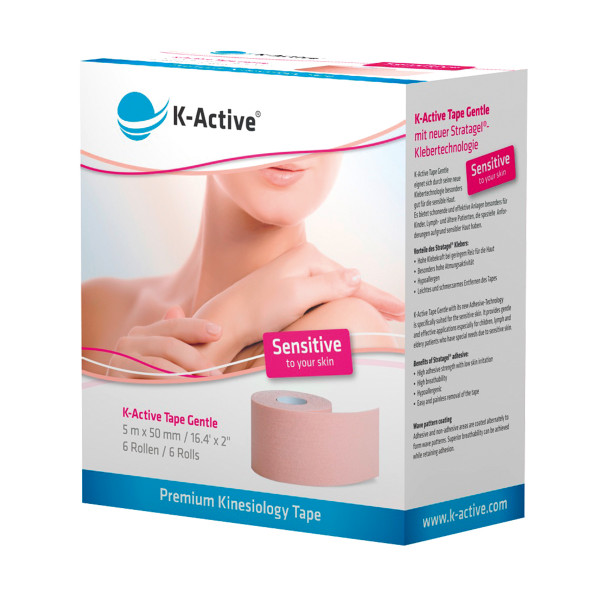 K-Active® Tape Gentle 6er-Box
