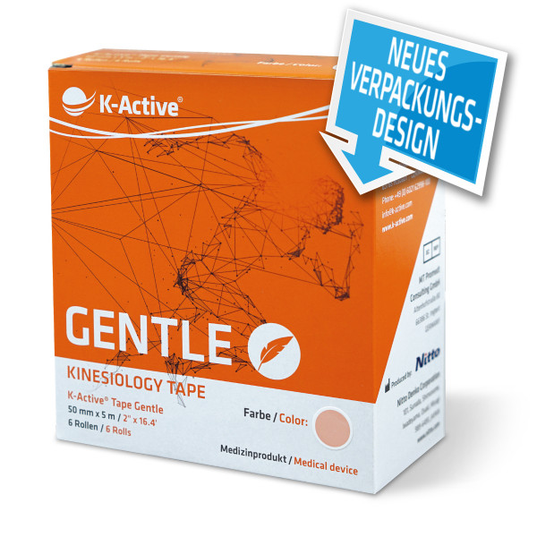 K-Active® Tape Gentle 6er-Box