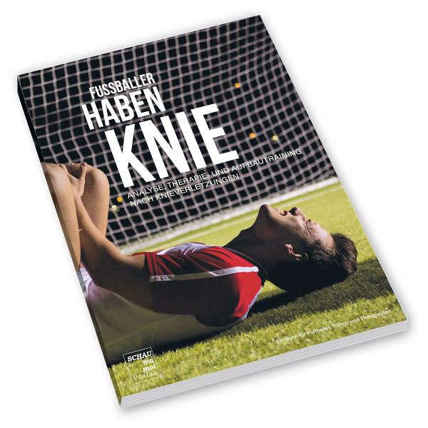 Fußballer haben Knie