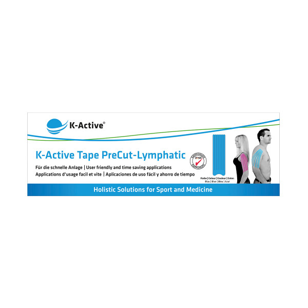 K-Active® Tape PreCut Lymphatic