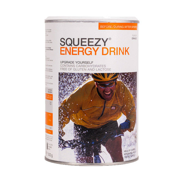 Squeezy Energy Drink 500 g, Orange
