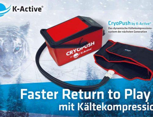 Produktvorstellung: CryoPush by K-Active®